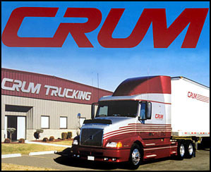 Crum Trucking is hiring Company Drivers